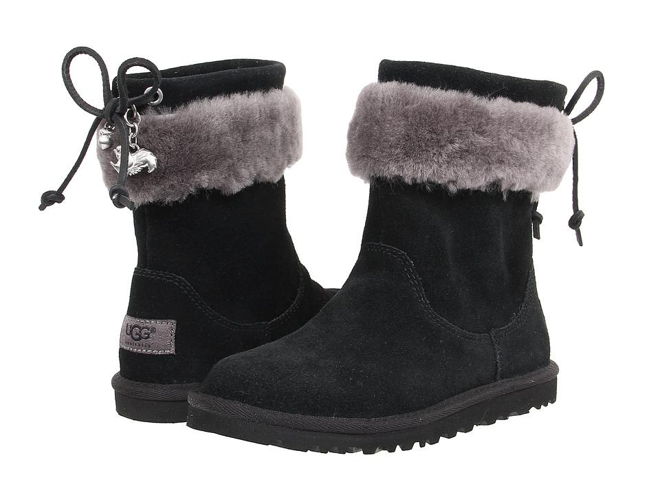UGG Kids - Pollie (Little Kid/Big Kid) (Black) Girls Shoes