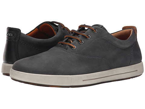 ECCO - Eisner Tie (Titanium/Black) Men's Lace up casual Shoes
