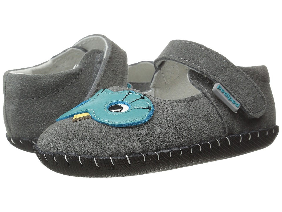 pediped - Jazzie Original (Infant) (Grey) Girl's Shoes