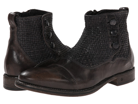 John Varvatos - Fleetwood Short Button Boot (Antique) Men