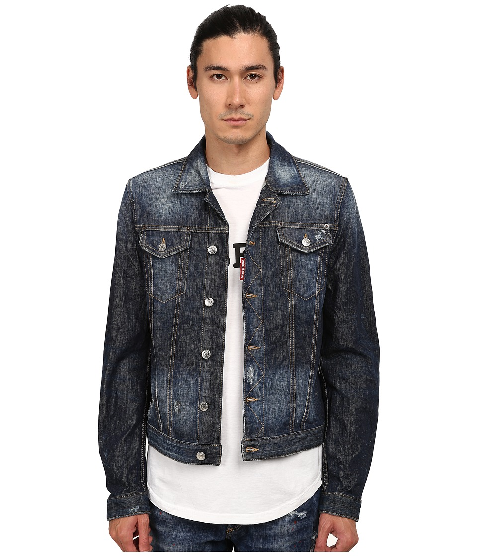 DSQUARED2 - Phoenix Denim Jacket (Blue) Men's Coat