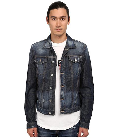 DSQUARED2 - Phoenix Denim Jacket (Blue) Men's Coat