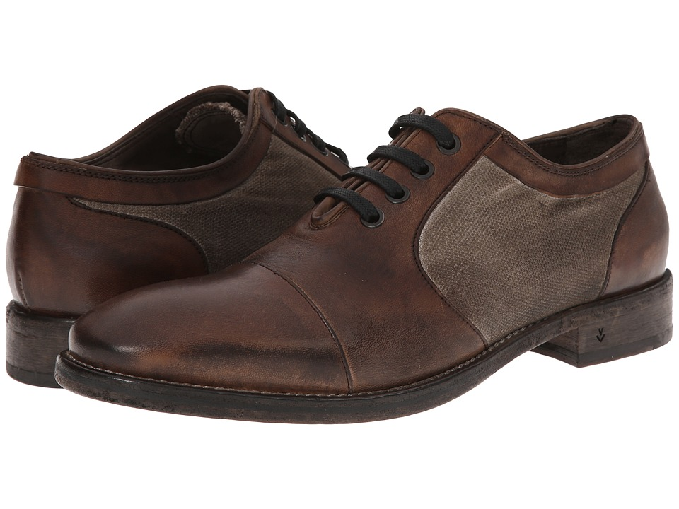 John Varvatos Fleetwood JH Oxford (Dark Ghurka) Men