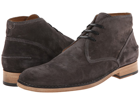 John Varvatos - Monaco Moc Chukka (Steel Grey) Men