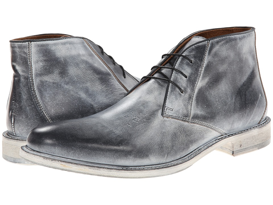 John Varvatos - College Chukka (Black/White) Men