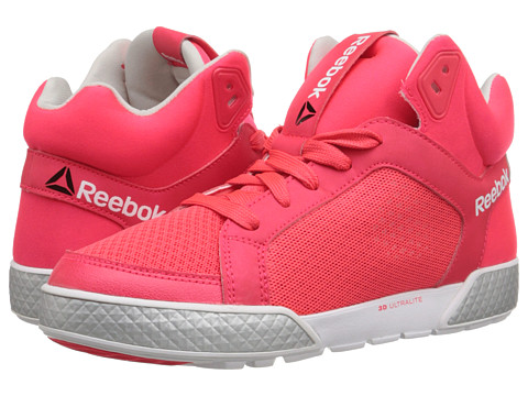 Reebok - Dance Urtempo Mid 3.0 TXL (Neon Cherry/Silver Metallic/Steel/White) Women's Dance Shoes