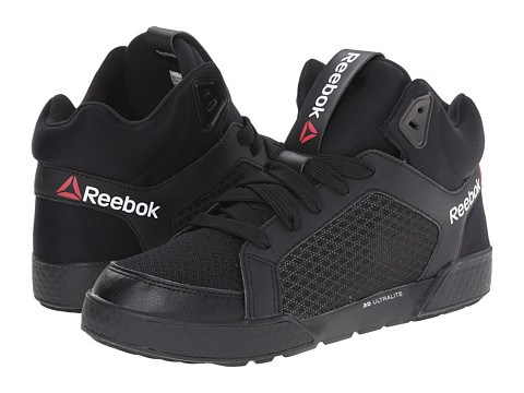 Reebok - Dance Urtempo Mid 3.0 TXL (Black/Matte Silver/White/Neon Cherry/Steel) Women's Dance Shoes