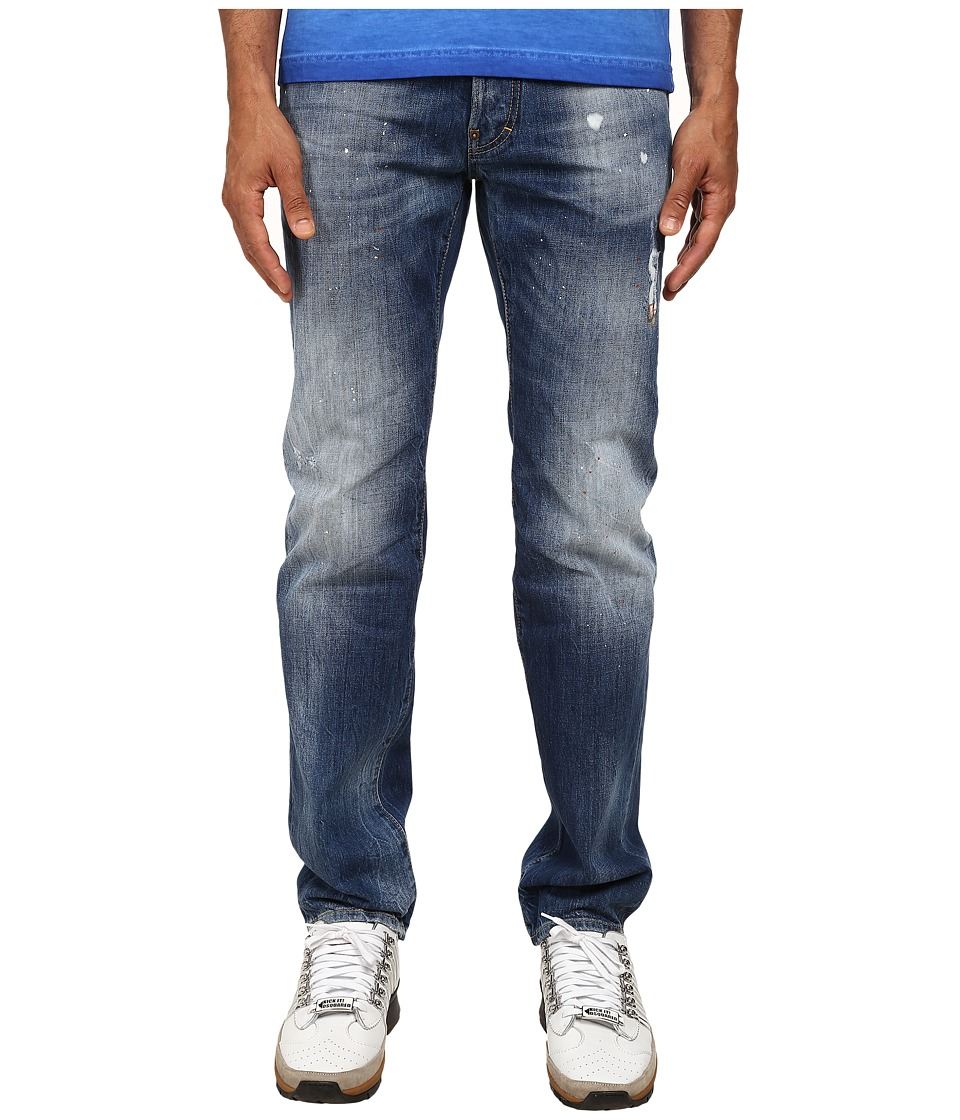 DSQUARED2 - Light Snow Balls Dean Jeans (Blue) Men's Jeans