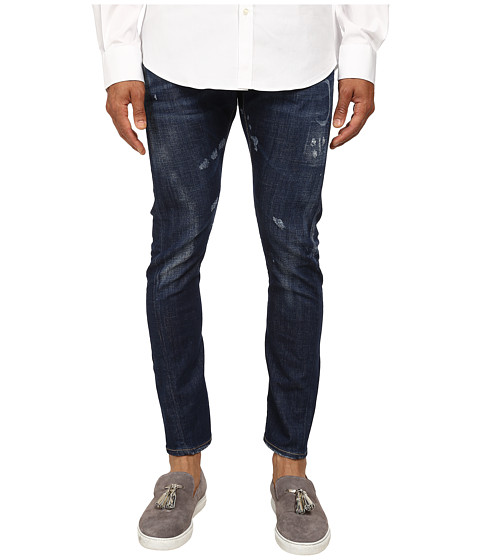 DSQUARED2 - Medium Wash Sexy Twist Jeans (Blue) Men