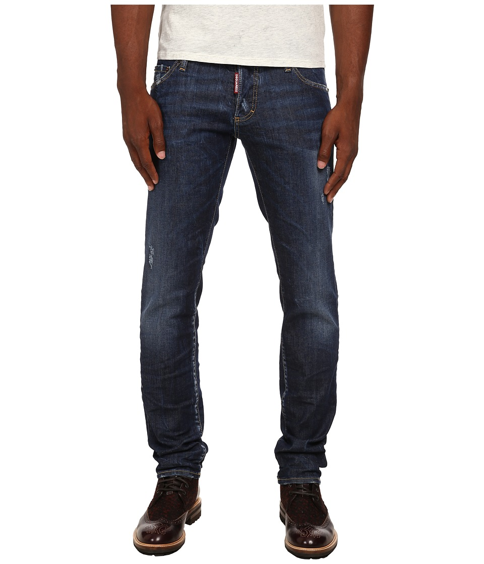 DSQUARED2 - Perfect Wash Slim Jeans (Blue) Men's Jeans