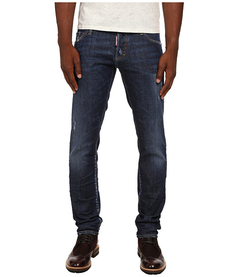 DSQUARED2 - Perfect Wash Slim Jeans (Blue) Men