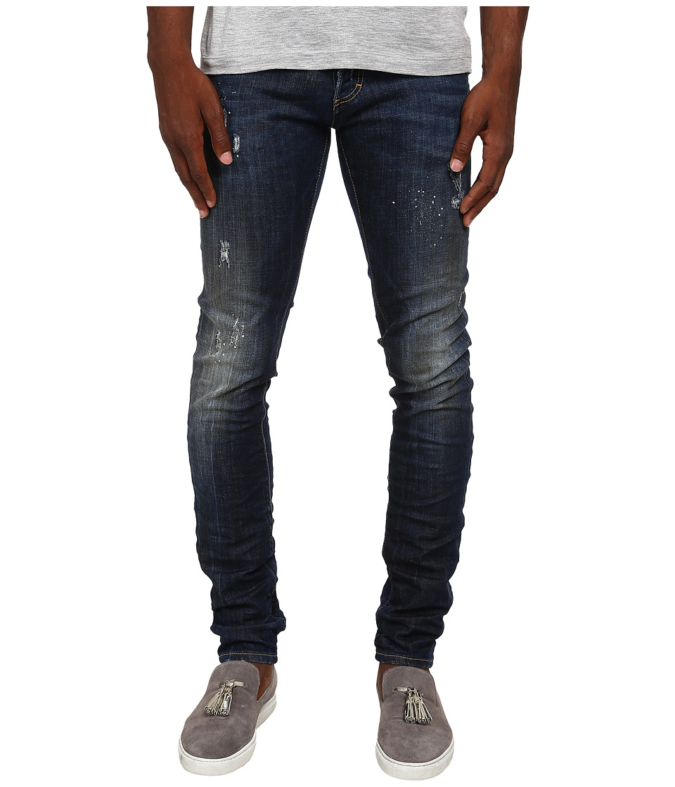DSQUARED2 - Midnight Thunder Slim Jeans (Blue) Men's Jeans