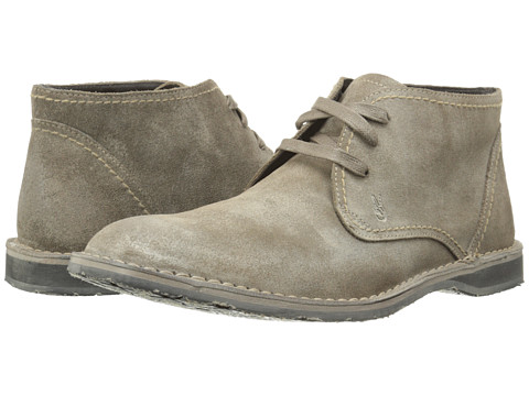 John Varvatos - Hipster Chukka (Wet Sand) Men's Lace-up Boots