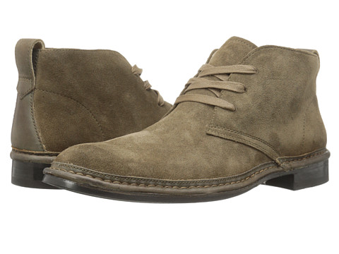 John Varvatos - Sid Roll Welt Chukka (Clay) Men's Boots