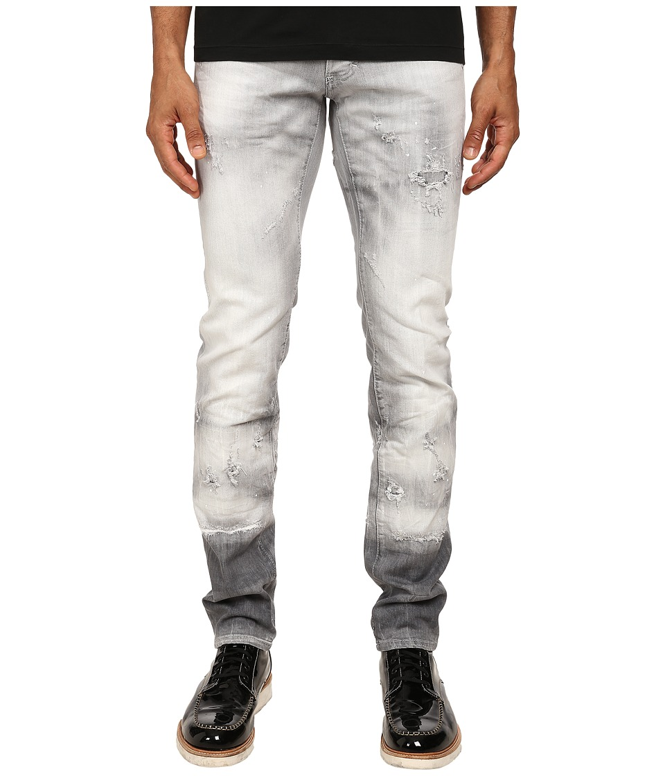 DSQUARED2 - Grey Denim Slim Jeans (Grey) Men's Jeans