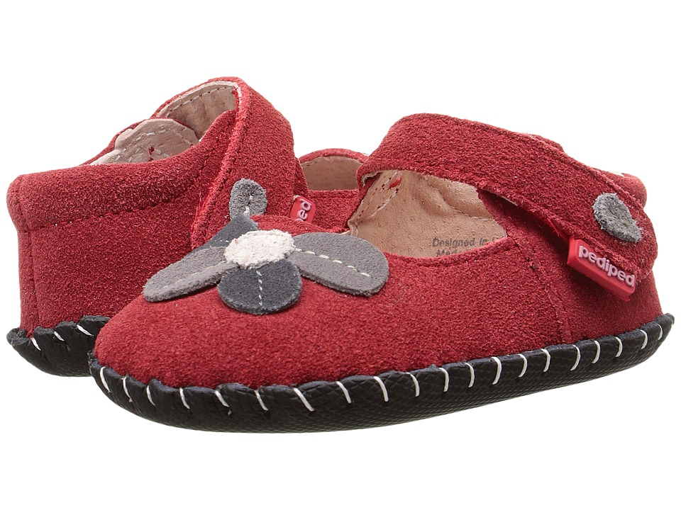 pediped - Brittany Original (Infant) (Red) Girl's Shoes