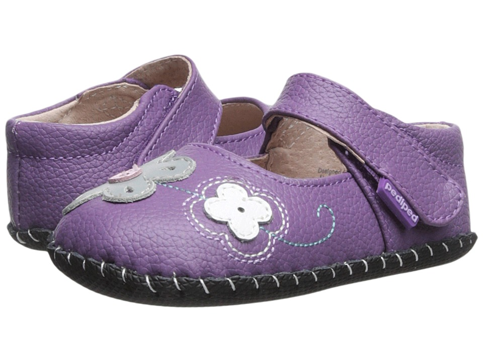 pediped - Lorraine Original (Infant) (Purple) Girl's Shoes