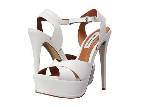 Steve Madden - Sylva (White Patent) High Heels
