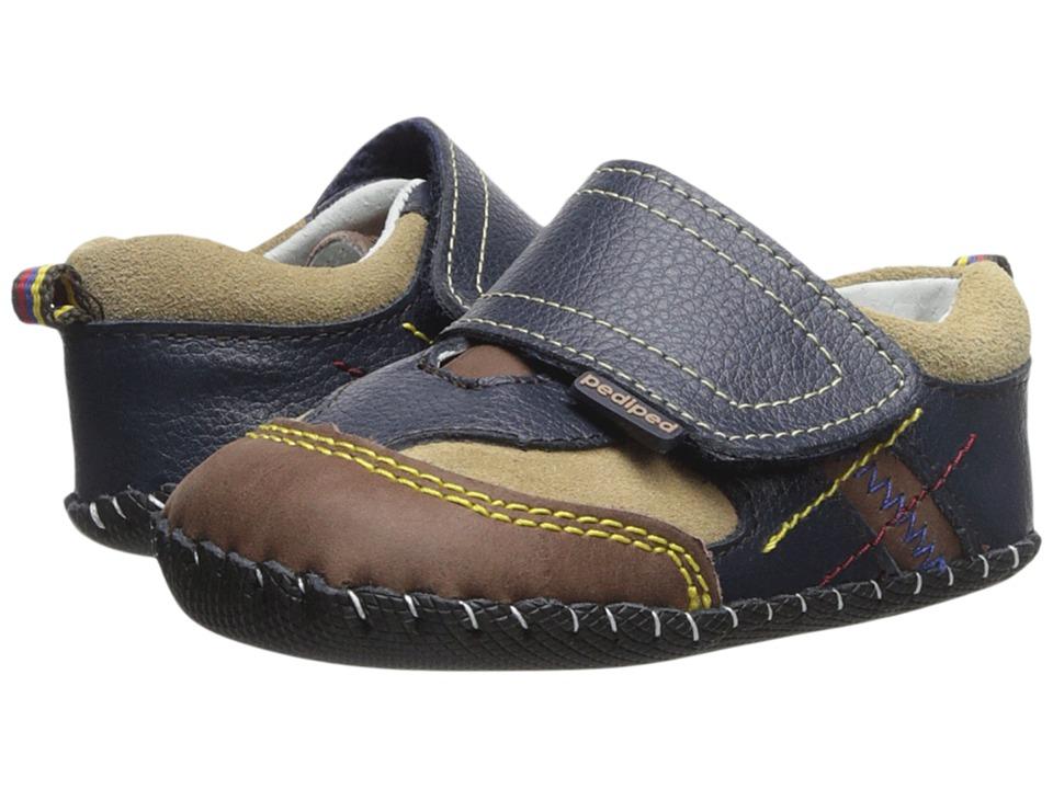 pediped - Clive Original (Infant) (Navy) Boy's Shoes