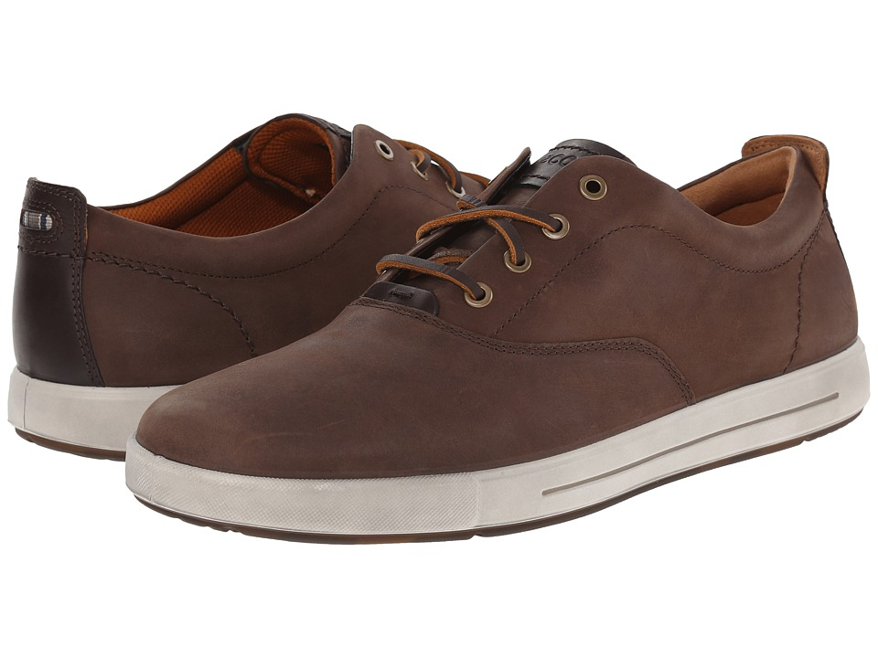 ECCO - Eisner Tie (Cocoa Brown/Coffee) Men's Lace up casual Shoes