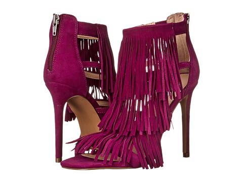 Steve Madden - Fringly (Purple Suede) High Heels
