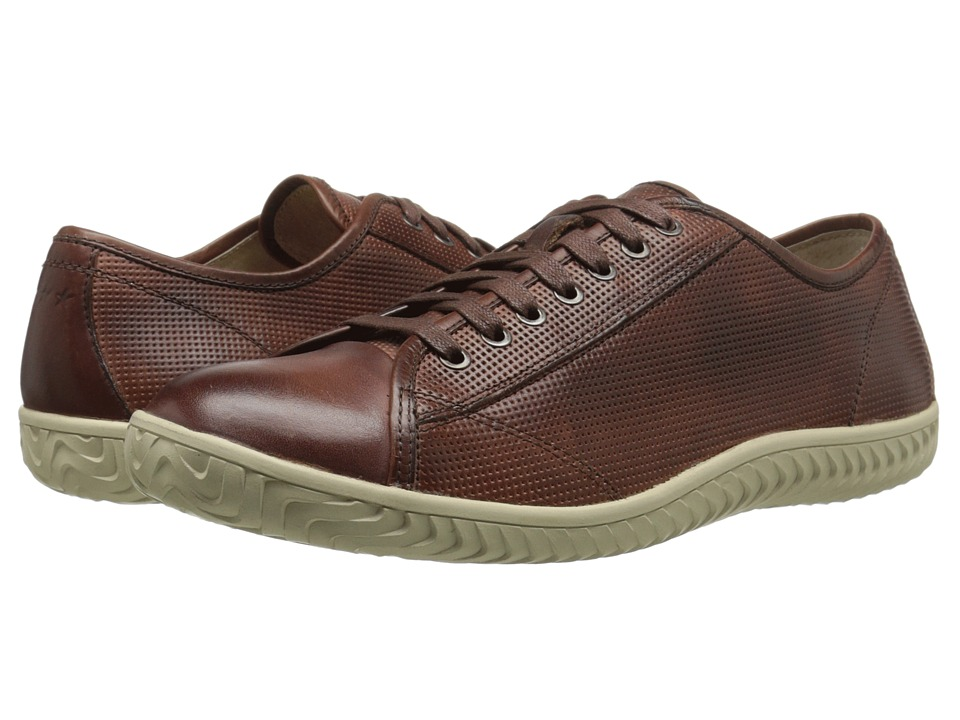 John Varvatos - Hattan Low Top (Mocha) Men