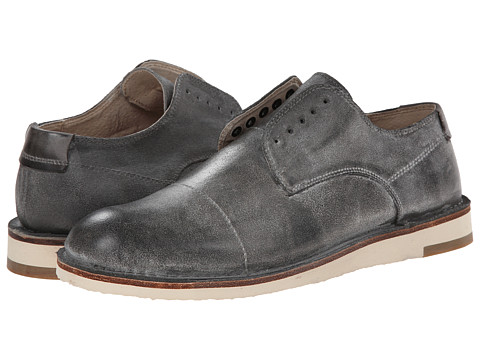 John Varvatos - Mayfield Laceless Derby (Lead) Men