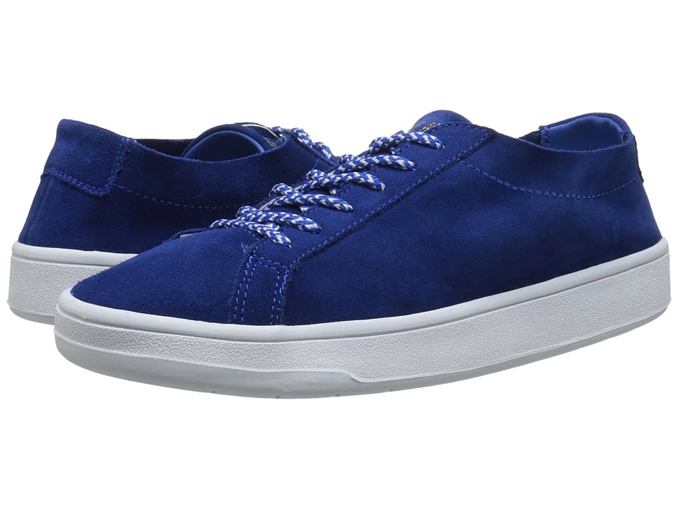 Steve Madden - Bolt (Blue Suede) Women's Lace up casual Shoes