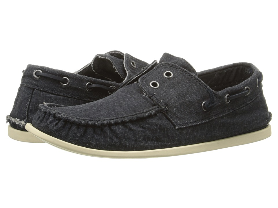John Varvatos - Schooner Boat Shoe (Dusted Blue) Men
