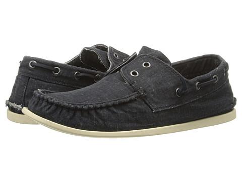 John Varvatos - Schooner Boat Shoe (Dusted Blue) Men's Slip on Shoes
