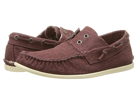 John Varvatos - Schooner Boat Shoe (Cherrywood) Men