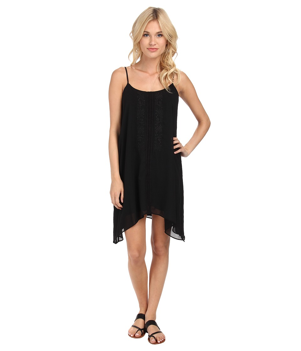BCBGeneration Yoke Dress (Black Combo) Women