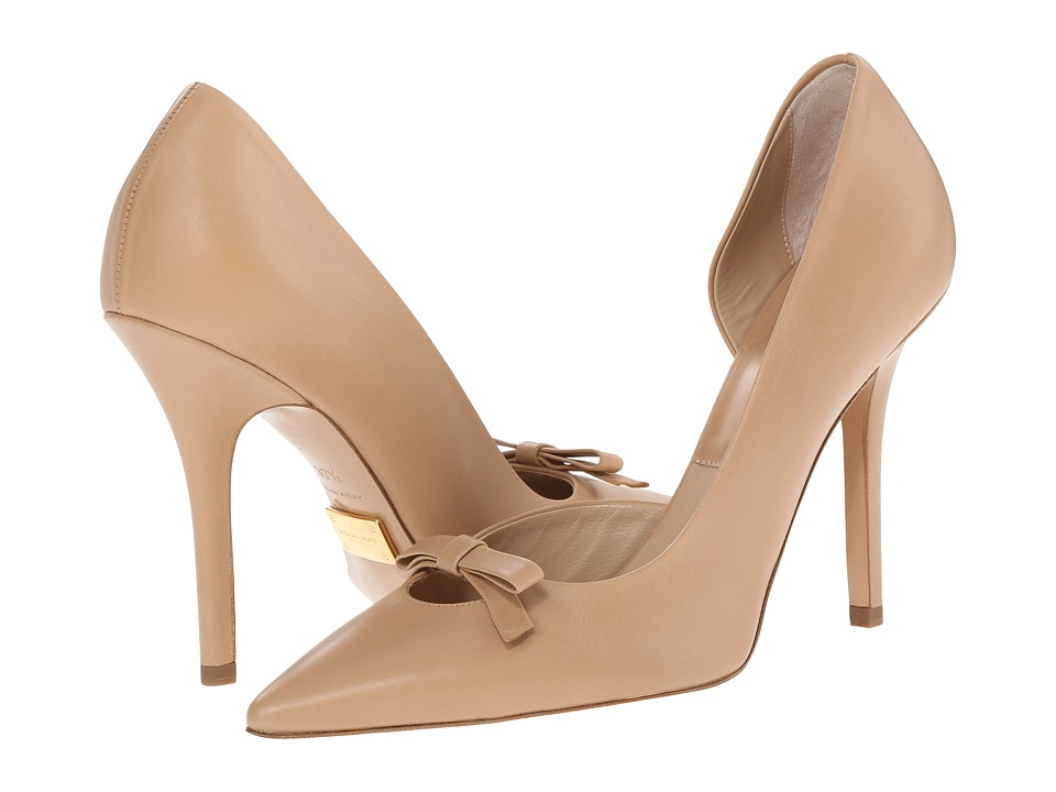 Michael Kors Alessandra (Toffee Smooth Calf) High Heels
