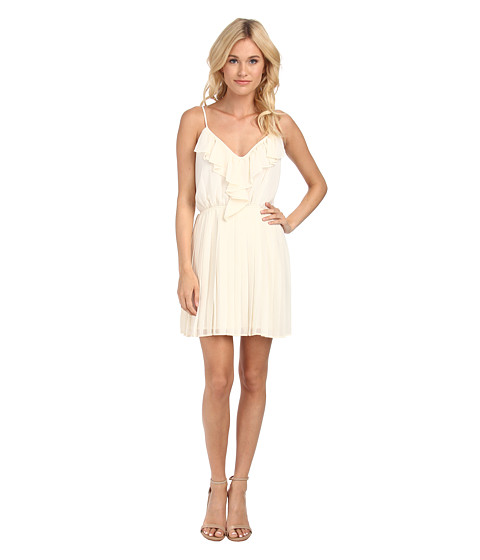 BCBGeneration - Pleat Dress (Whisper White) Women's Dress