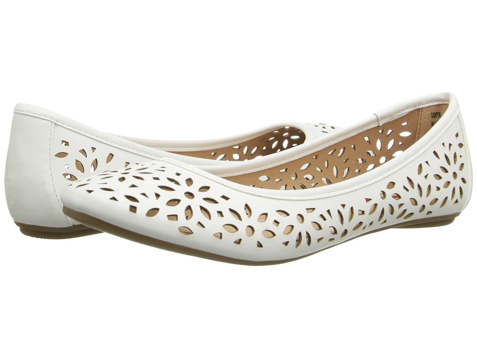 UNIONBAY - Tanya (White PU) Women's Flat Shoes