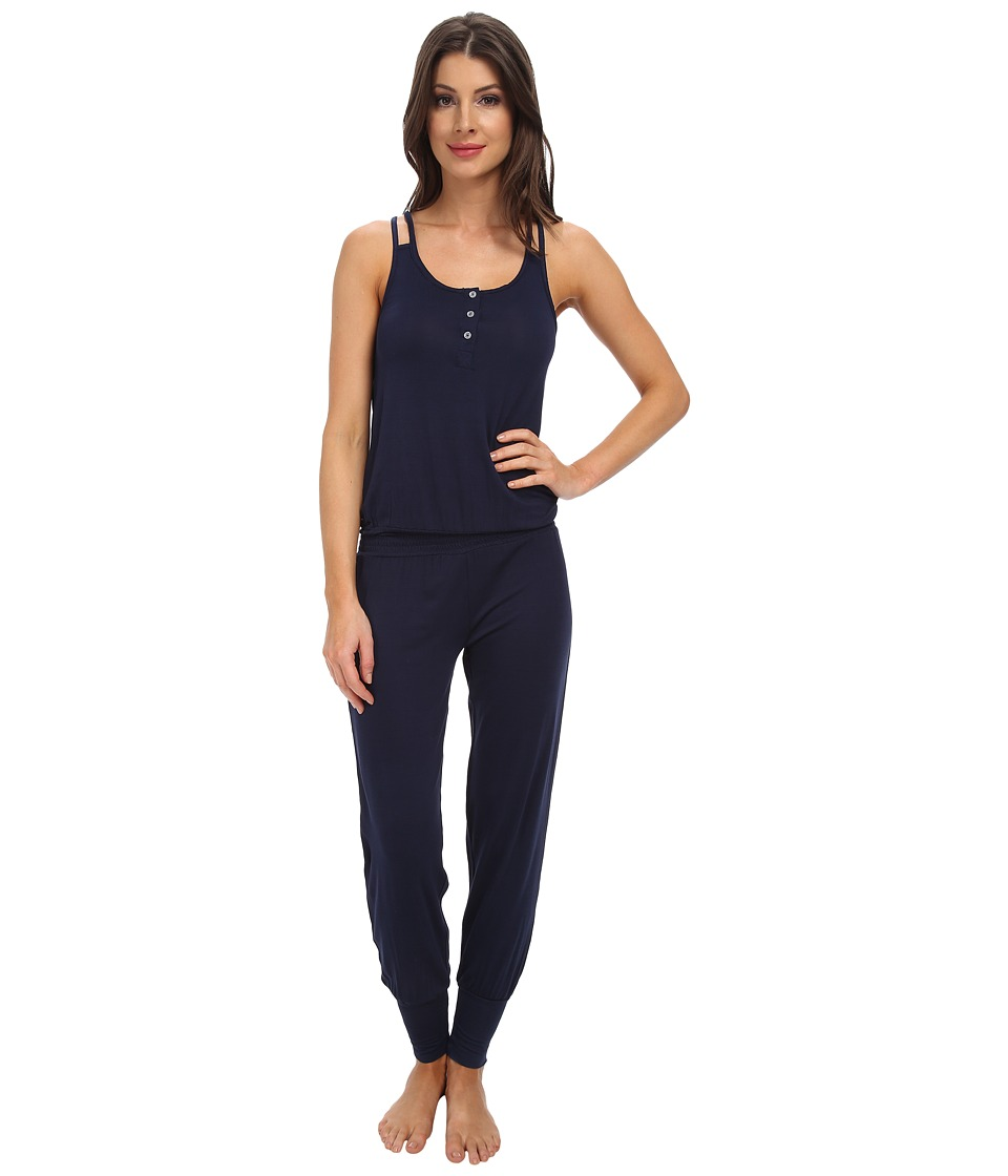 Splendid - Genie Romper (Black Iris) Women's Jumpsuit & Rompers One Piece