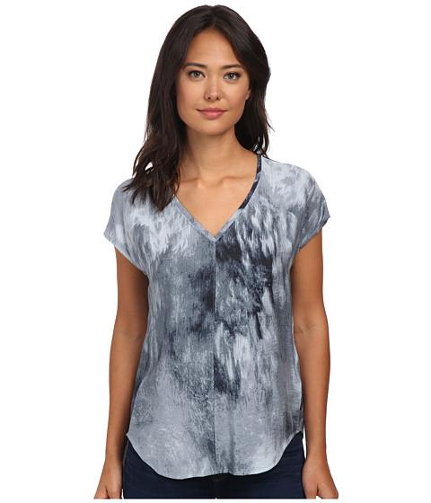 Calvin Klein Jeans - Extended Sleeve V-Neck Tee (Classic Navy) Women