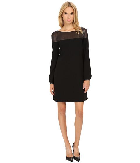 Armani Jeans - Vestito Colorblock Shift Dress (Black) Women