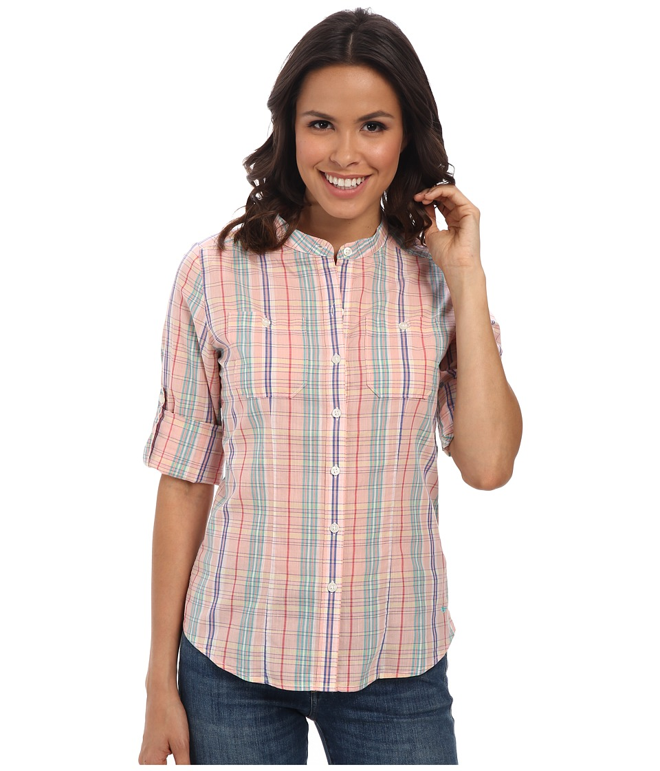 Dockers Misses - The Convertible Cargo Shirt (Malorie Plaid) Women's Clothing