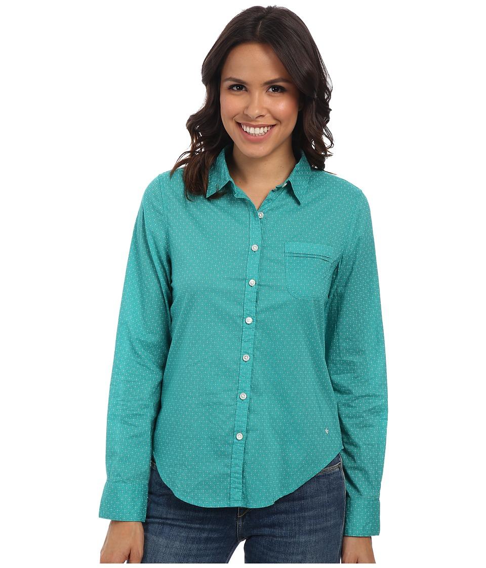 Dockers Misses - Pattern Perfect Shirt (Kelli Print/Baltic) Women