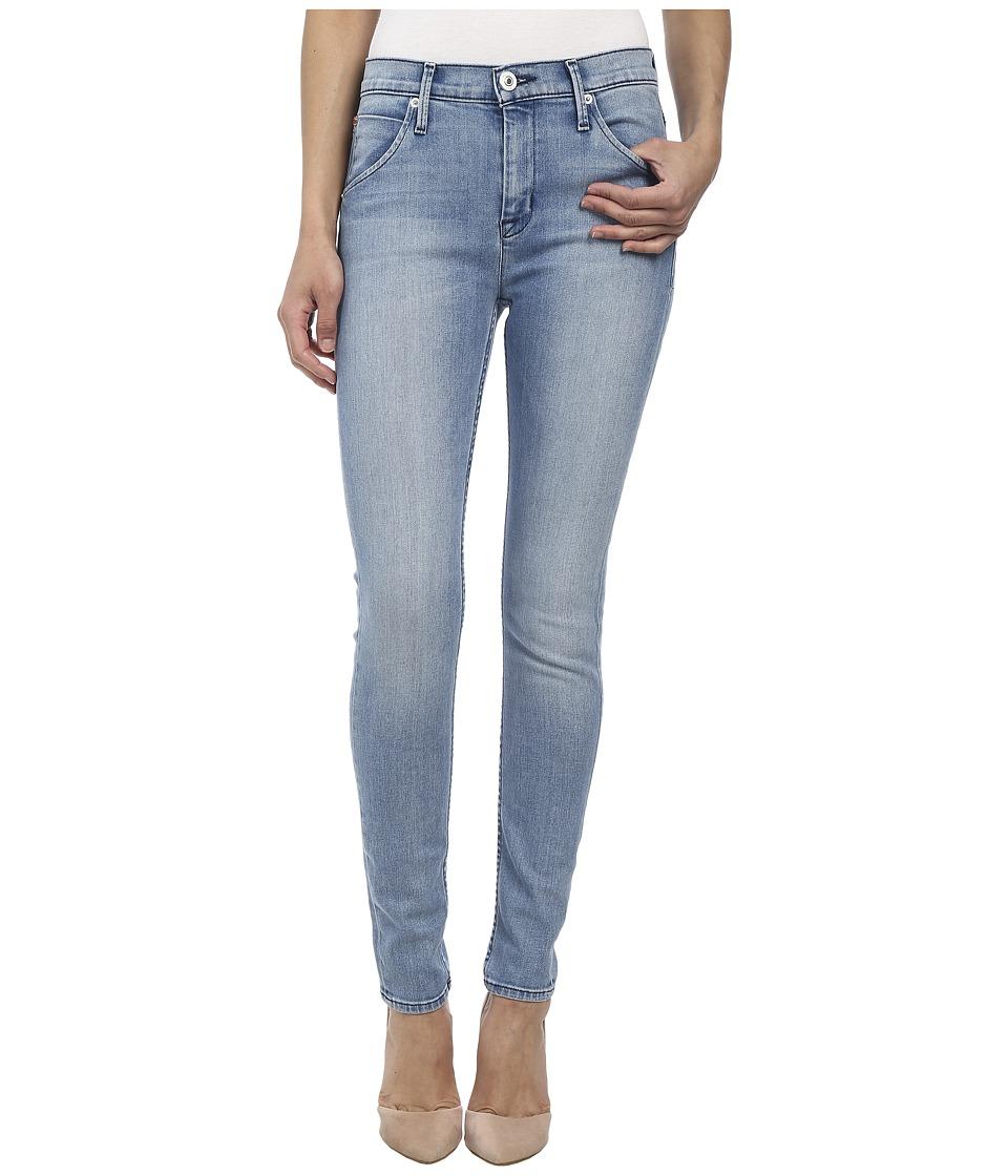 Hudson - Lynne High Waist Flap Super Skinny Jeans in Pico (Pico) Women's Jeans