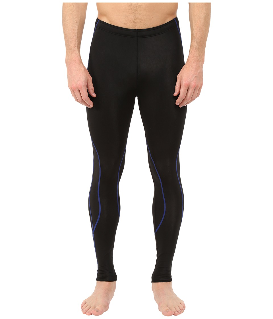 CW-X - Insulator TraXter Tights (Black/Blue) Men's Workout