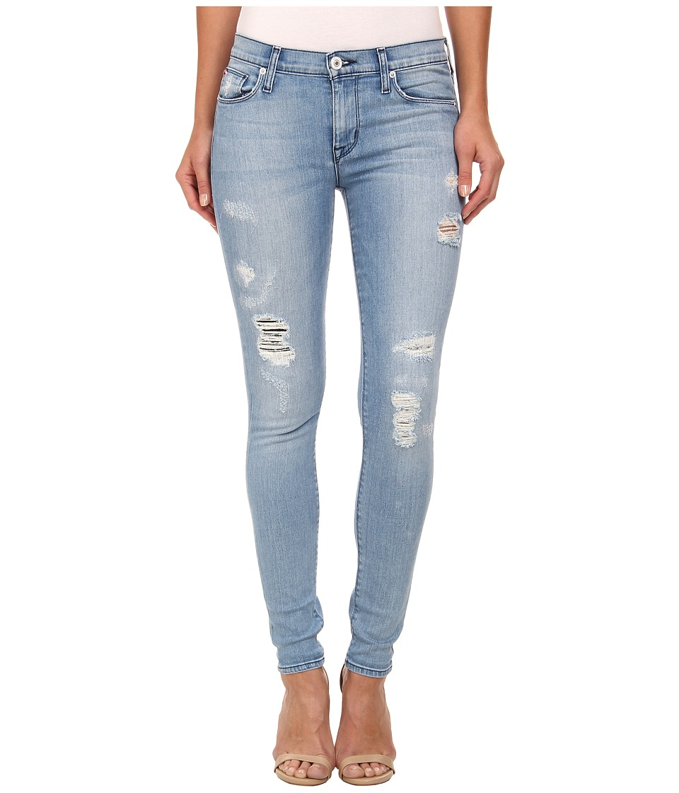 Hudson - Nico Mid Rise Super Skinny Jeans in Buzzworthy (Buzzworthy) Women's Jeans