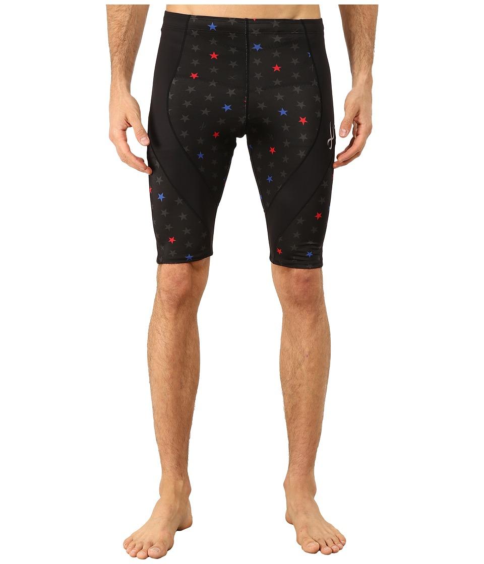 CW-X - Pro Shorts Print (Black/Star Print) Men's Shorts
