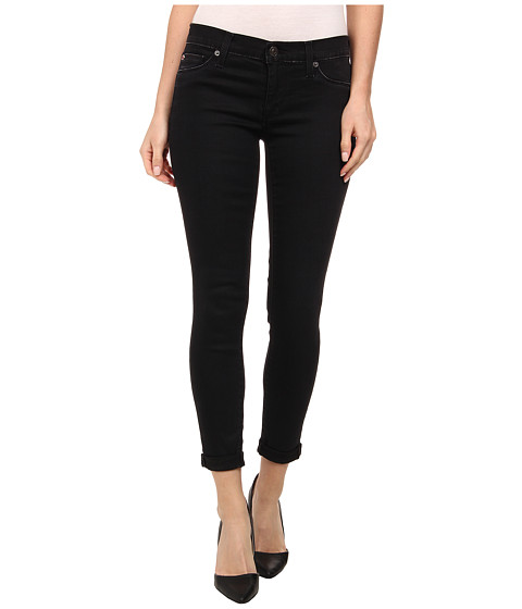 Hudson - Harkin Crop Super Skinny Cuff Jeans in Shrine (Shrine) Women