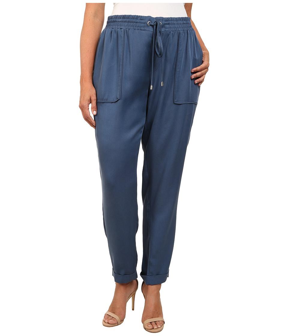 Mynt 1792 - Plus Size Soft Surplus Pants (Ensign Blue) Women's Casual Pants