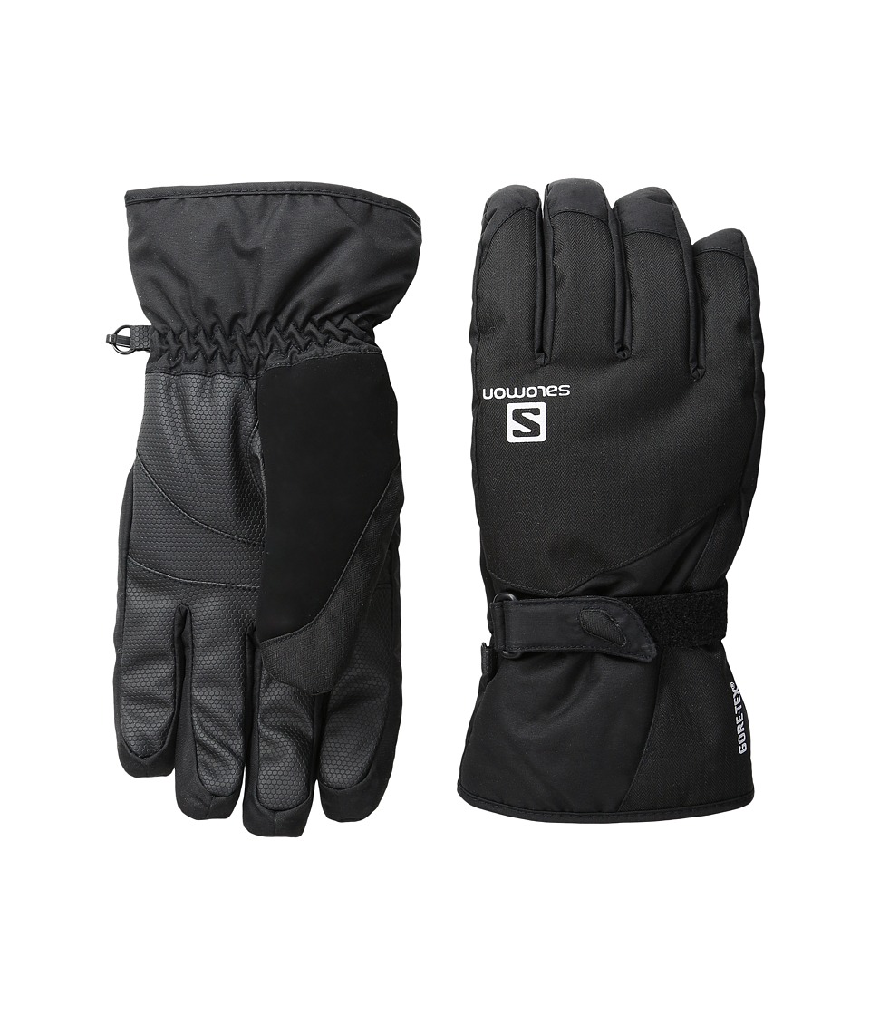 Salomon - Force Gtx M (Black) Gore-Tex Gloves
