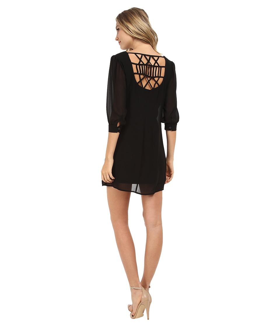 Gabriella Rocha - Delphine Shift Dress (Black) Women's Dress
