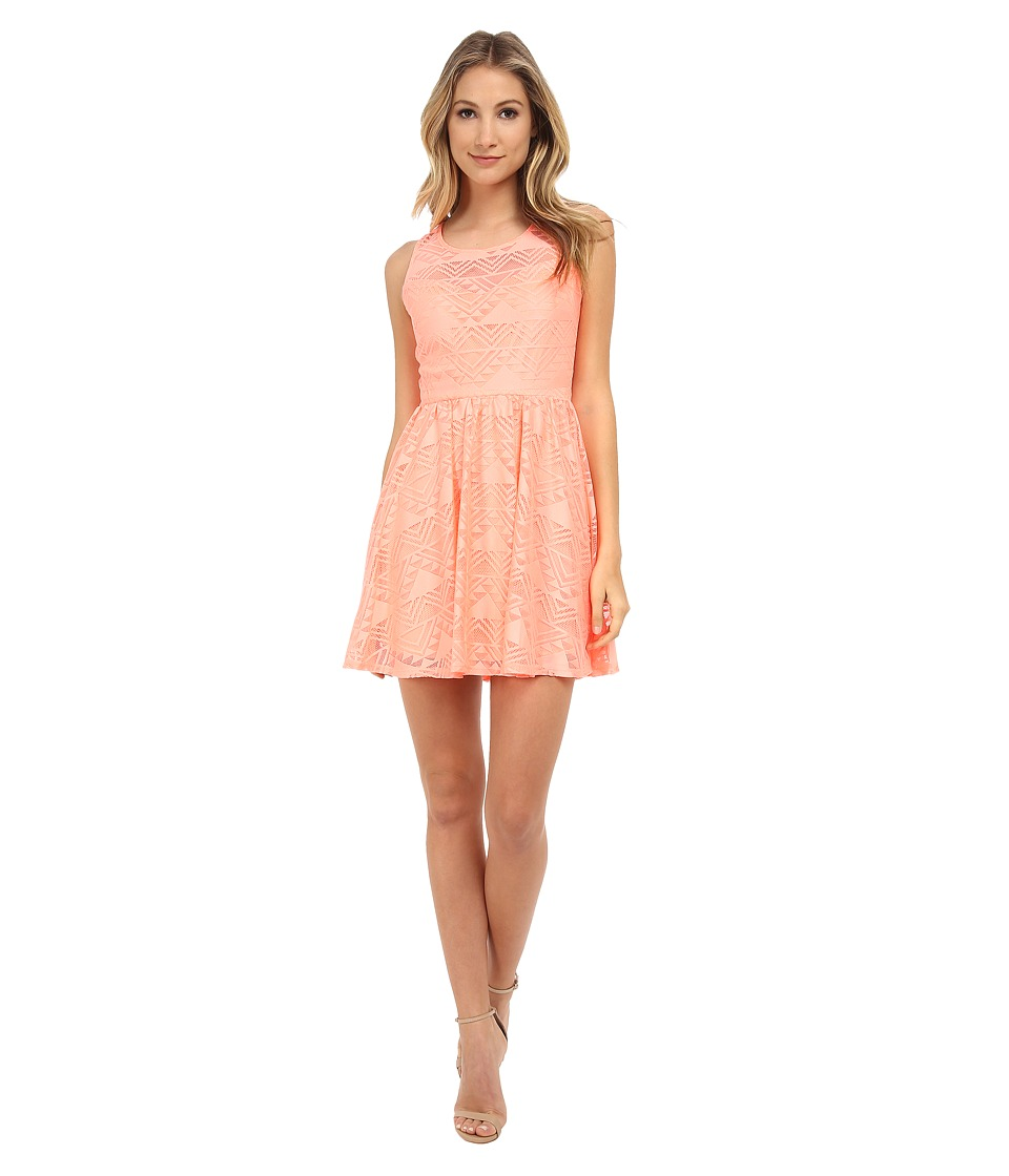 Gabriella Rocha - Denissa Dress (Neon Coral) Women's Dress