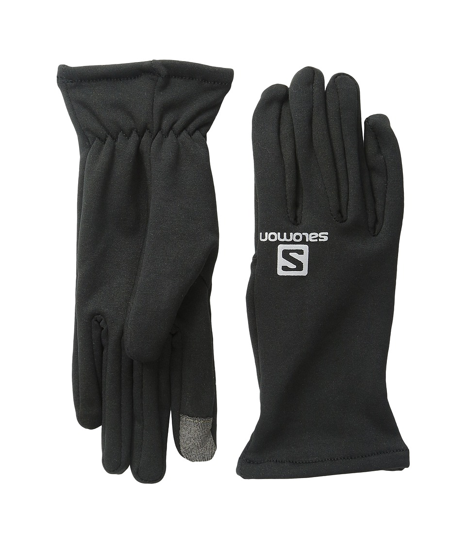 Salomon - Running Fleece (Black) Ski Gloves